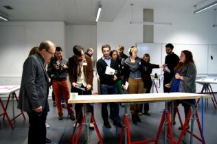 Les chambres mortuaires avec les étudiants du DSAA Le Corbusier