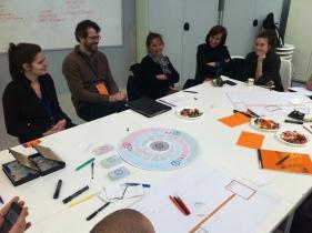 Comment former les professionnels de demain ? L'atelier animé par l'équipe pédagogique du DSAA Le Corbusier.