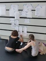 Co-conception du projet entre les différents partenaires - juillet 2018 - Photographie Lisa Renard