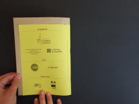 Carnet d'exploration - conception et photographie la Fabrique de l'hospitalité - Septembre 2018